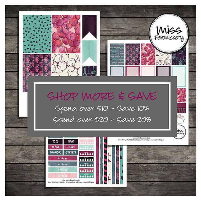 New SAVINGS in the SHOP - save up to 20% on now for planner printables! Follow link on blog in profile! #planner #planneraddict #plannerlove #plannernerd #plannercommunity #plannerstickers #happyplanner #erincondren #erincondrenlifeplanner #mambi @erincondren  @meandmybigideas  @the_happy_planner