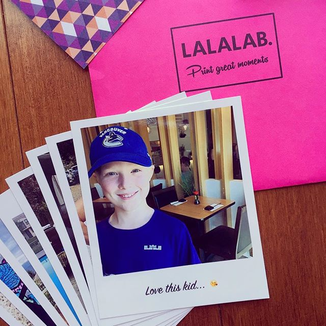 Blogging about @lalalab and using it with #artjournaling - click #linkinbio for post! #scrapbooking #junkjournal #photos #memorykeeping