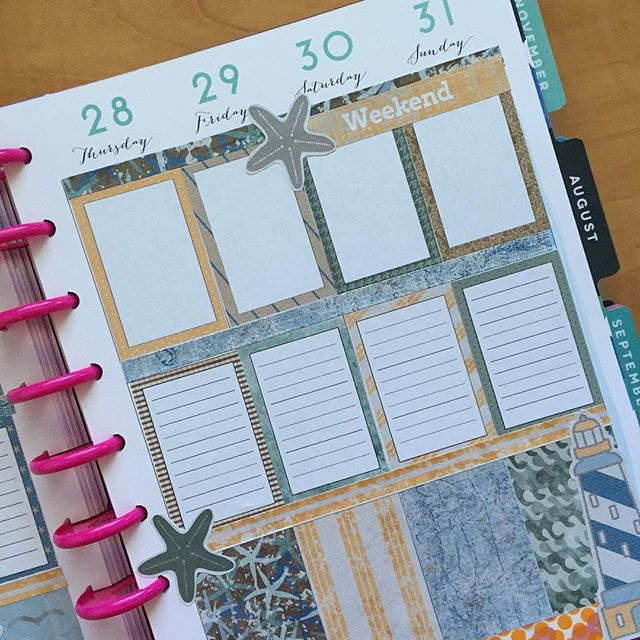Before the ink with my Nautical Tides planner printable for the week. Get yours in the shop #linkinbio #planner #planneraddict #plannerlove #plannernerd #plannercommunity #plannergirl #happyplanner #erincondrenlifeplanner @meandmybigideas #mambi
