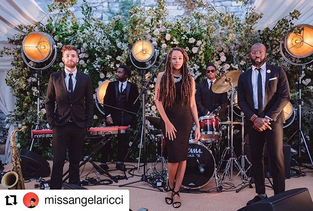 Repost @missangelaricci Let's get the music started!! A botanical backdrop for the band's stage! Location @villapliniana Wedding planner @chicweddingsinitaly Band @alrmusic Floral designer @tuscanyflowers #weddingdetails #weddingcomo #weddingflowers #luxurywedding #tuscanywedding #tuscanyflowers