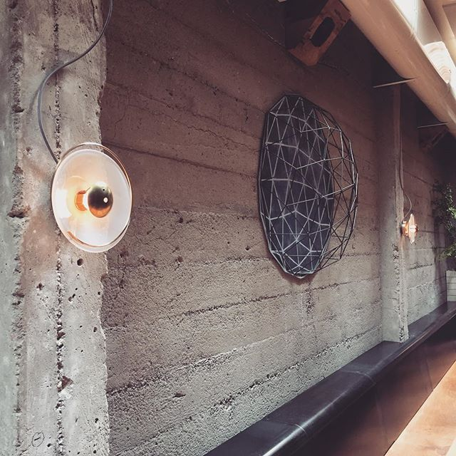 Check out the new Bullough sconces we installed @theprogress_sf  today! We brought these back from the depths of the rabbit hole... It was sweet down there and I wanted to stay! Alas