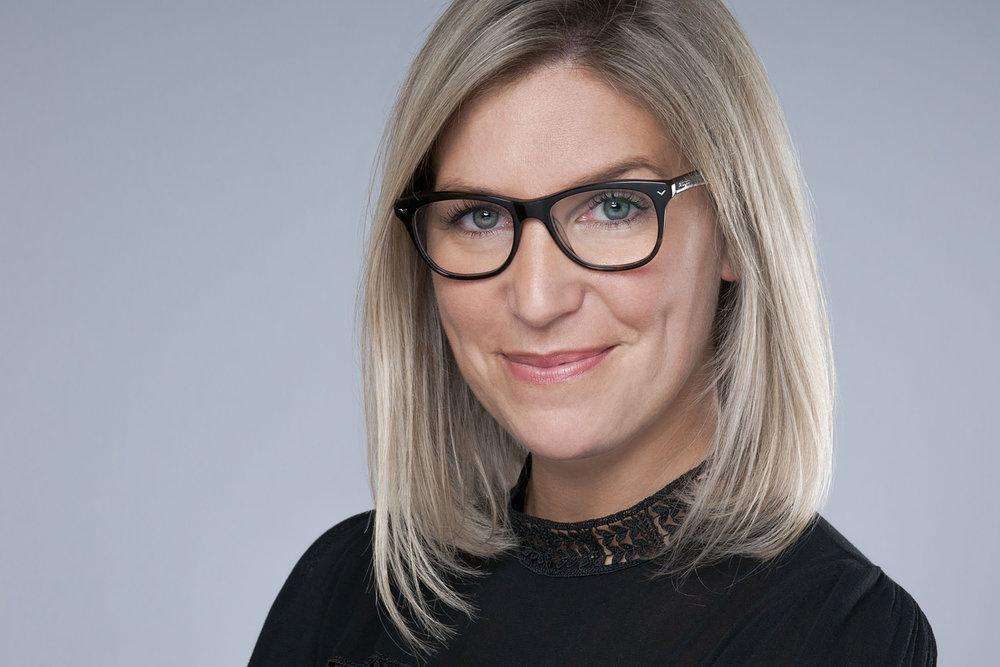 Headshot Portrait of Sophie G. in Geneva