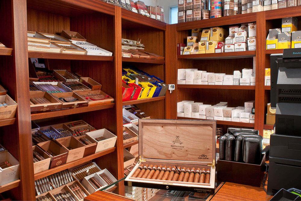 Salesroom of Gestocigars.