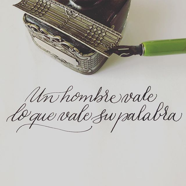 Así de simple. #caligraphy #caligrafia #caligrafiaconarte #handmade #hechoamano #ink