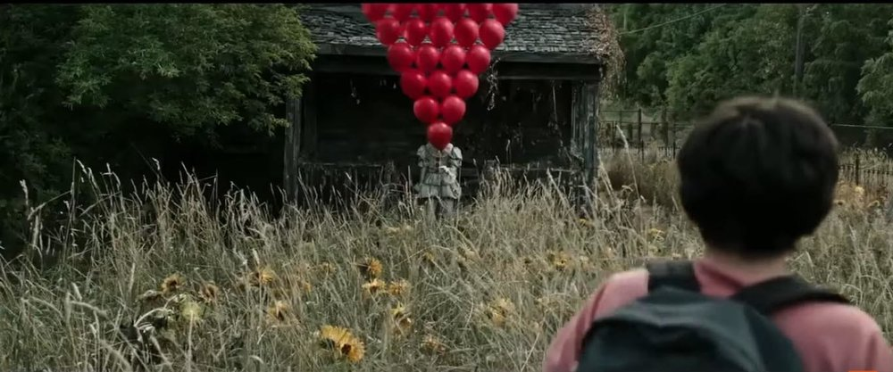 ♪ 99 Red Balloons go by... ♪