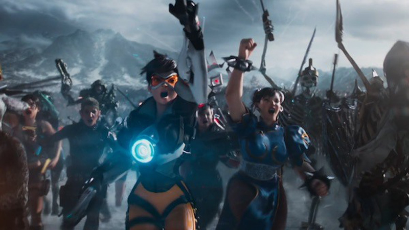 theres a lot to take in but clearly Tracer and Chun Li are the focus here