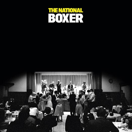 The National Boxer Yellow Vinyl The National Boxer Lp On