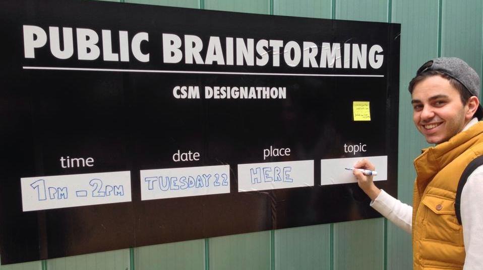 Weekly Public Brainstorming