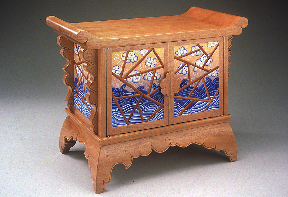 sea and sky altar coffer