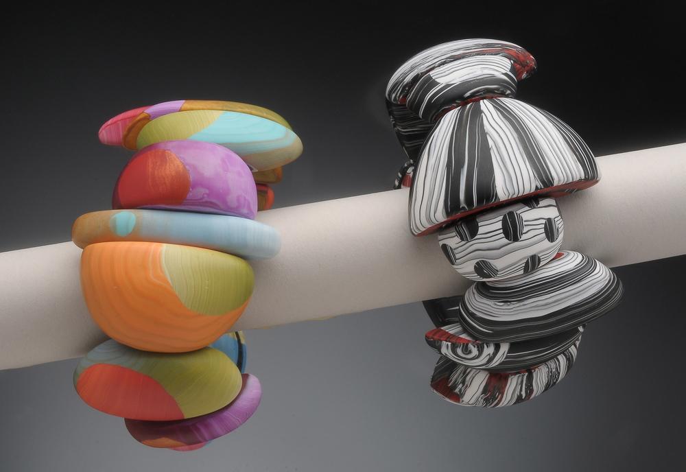 big bead stretch bracelets