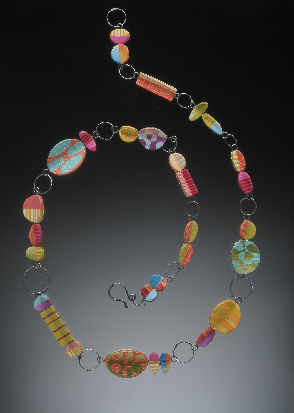 Paper Lantern Necklace