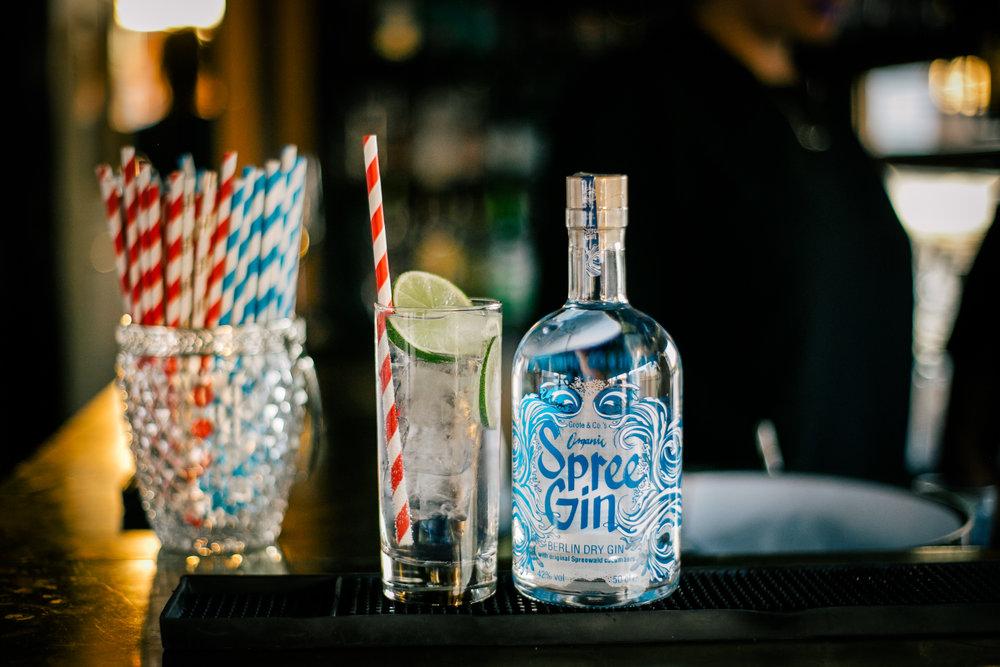 Client: Spree Gin Berlin