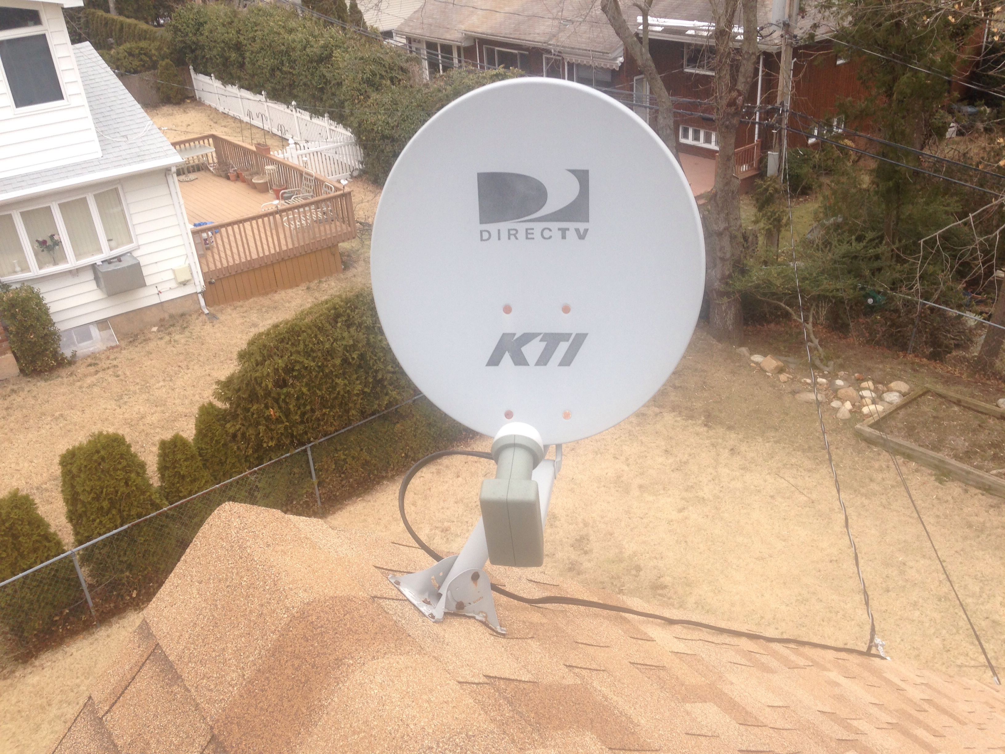 Satelite Dishes Are A Source For Leaks