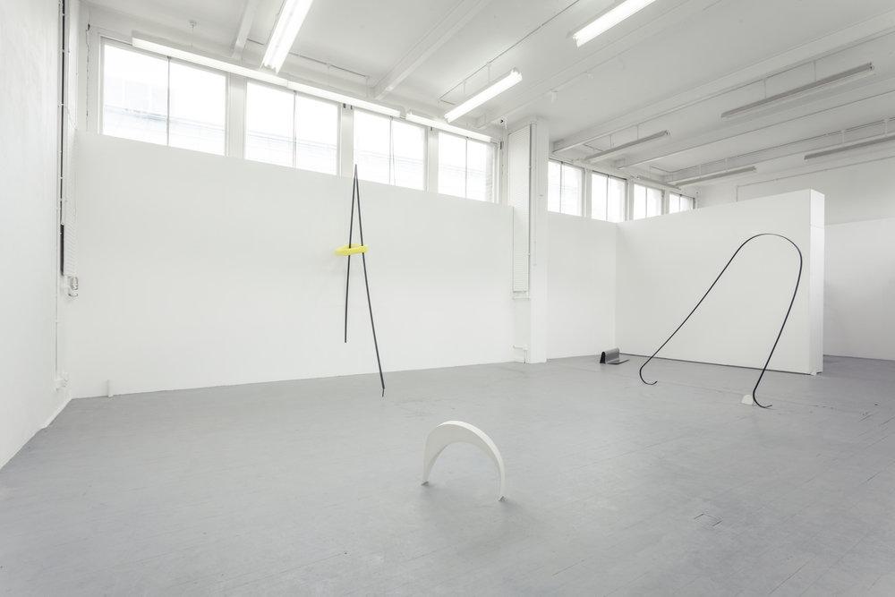 MFA Slade Degree show, installation shot
