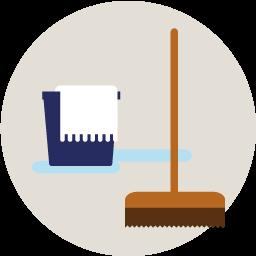 Na elke gast wordt je huis professioneel schoongemaakt. We gebruiken ons eigen bedlinnen en handdoeken.