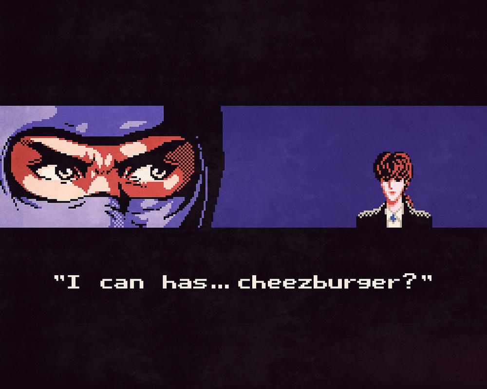 Ninja Gaiden x LOLcats mashup