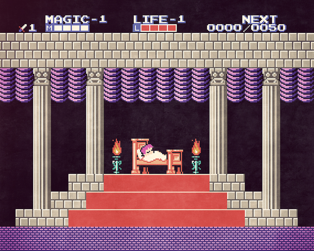 Little Nemo x Zelda II: The Adventure of Link mashup