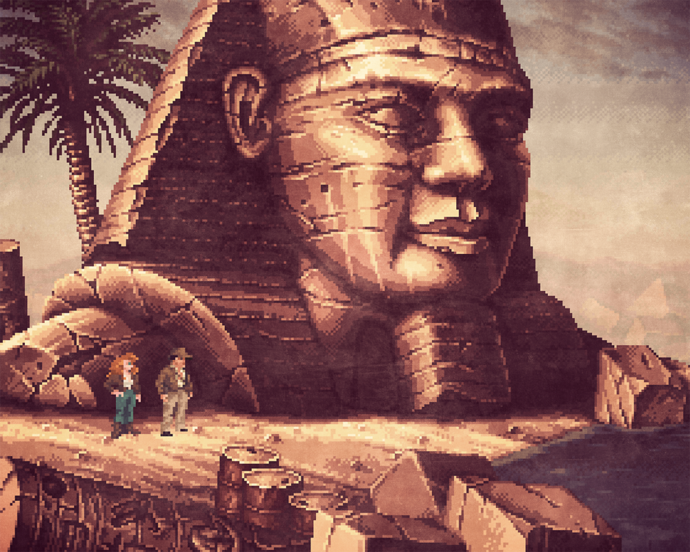Metal Slug X x Indiana Jones and the Fate of Atlantis mashup