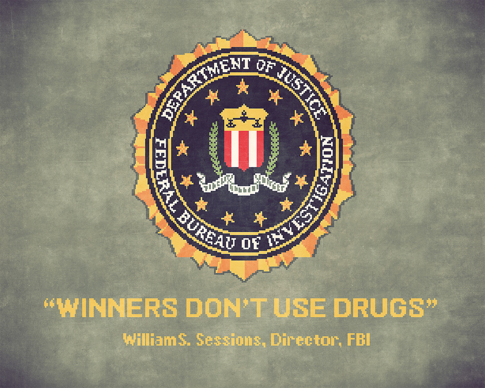 For more info:  http://en.wikipedia.org/wiki/Winners_Don't_Use_Drugs