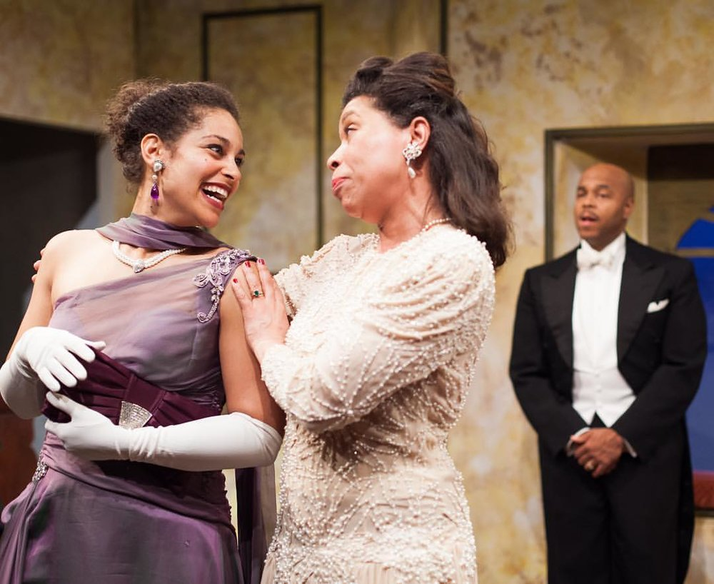 "Metropolitan Playhouse's Production of  On Strivers Row   ""As the actress Lily Livingston, Christina D. Eskridge is charming as a woman willing to try anything once."" -Victor Gluck, Editor-in-Chief"