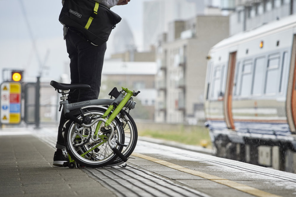 A Brompton goes where you go.