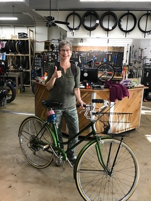 A $150 tune-up turns a beloved old bike into a dependable vehicle.