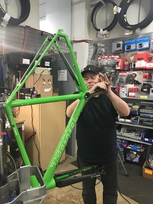 A $300 overhaul breathes new life into a commuter bike.
