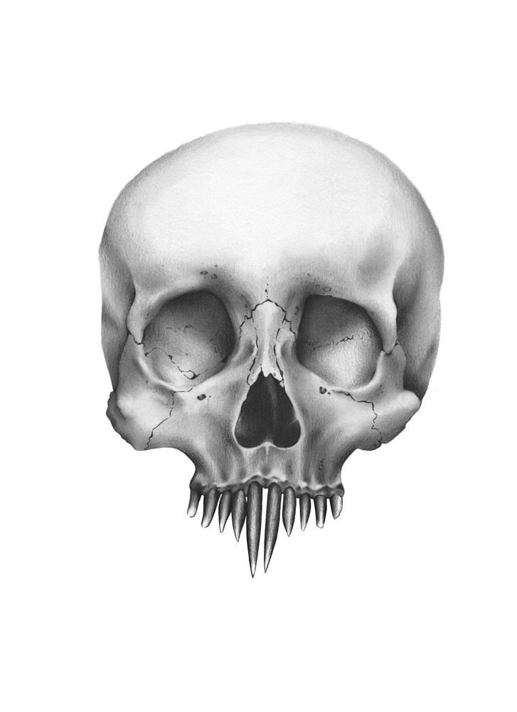 Nosferatu Skull