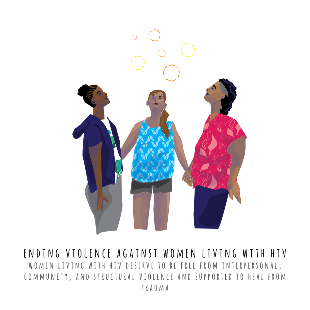 Series of images for  Positive Women's Network