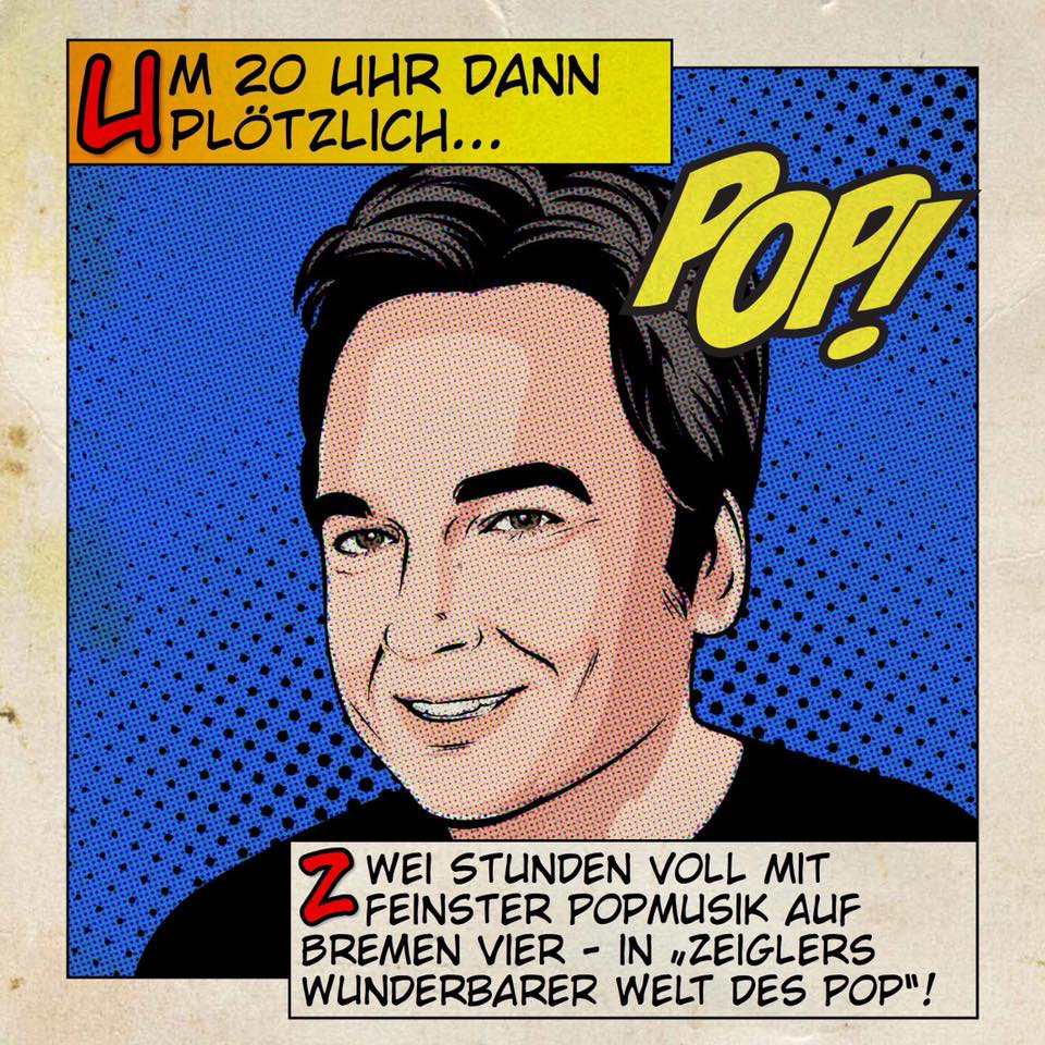 26 December 2017 - 26.12.2017 - Not a Drawing on Arnd Zeigler's best of 2017 Zeigler's Wunderbare Welt Des Pop show on Bremen's Radio Vier.