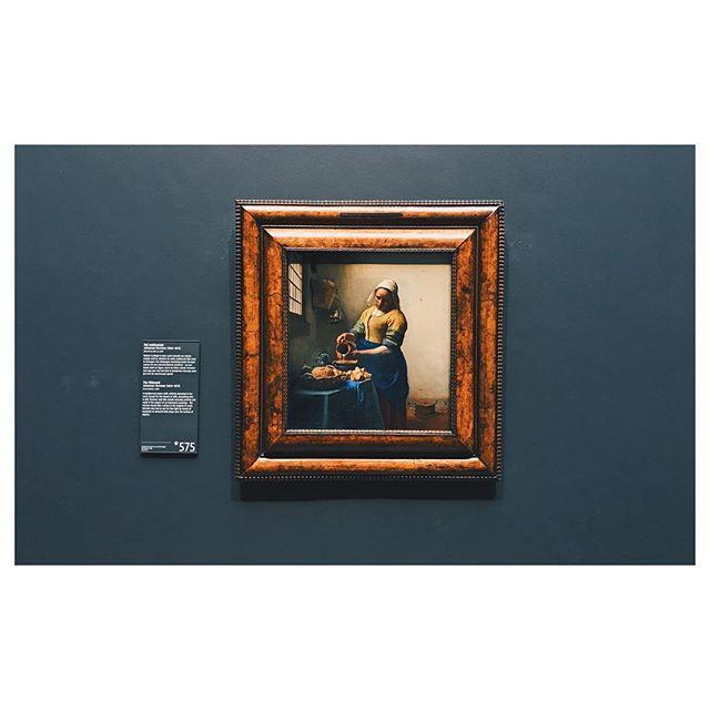 🍼🥛 #vsco #vscocam #amsterdam #vermeer