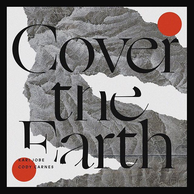worked on some ideas for my friends @codycarnes and @karijobe new single that released today and the direction they took the art is strong! the song is so good and it's available everywhere 🔥🔥🔥 #covertheearth