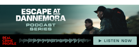Email Footer Banner for Escape At Dannemora - Created as an ad for the Escape At Dannemora podcast series. I added in an image of the audio waveform to reinforce the idea of this being an audio series.