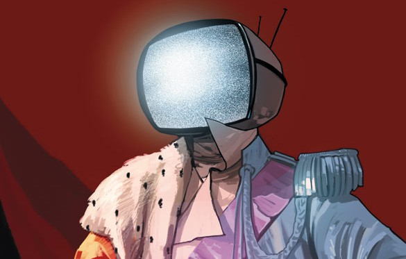 Prince Robot IV - from Saga, by Brian K. Vaughan
