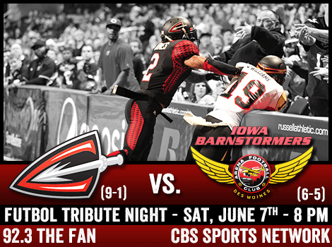 Saturday, June 7th at 8 PM EST (5 PM PST) on CBS Sports Network.