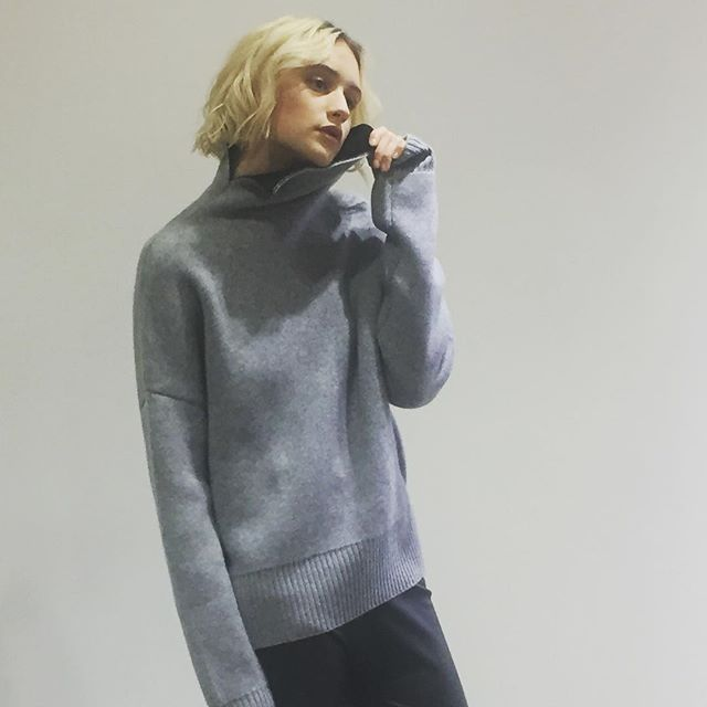 FW19 Campaign #cashmere #knitwear