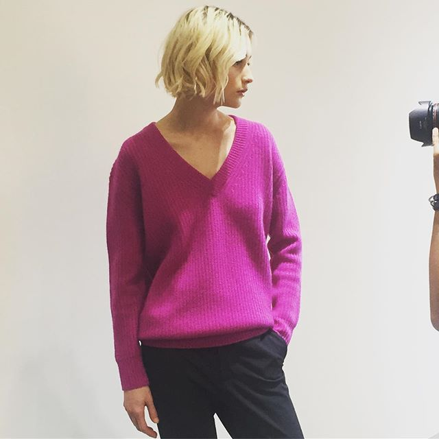 FW19 Campaign #cashmere #knitwear #photoshoot