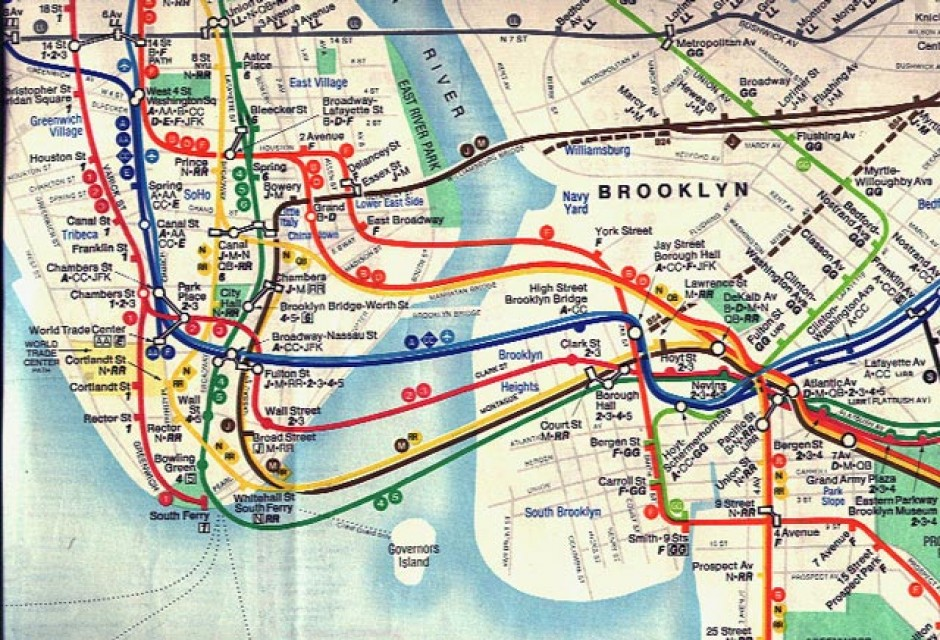 A Bit Of Map Design History The Early Kerner