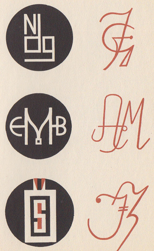 Two-toned Monograms