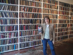 Me with my Sketchbook at the Brooklyn Art Library