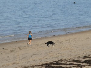 Running on the beach Aug 2010.jpg