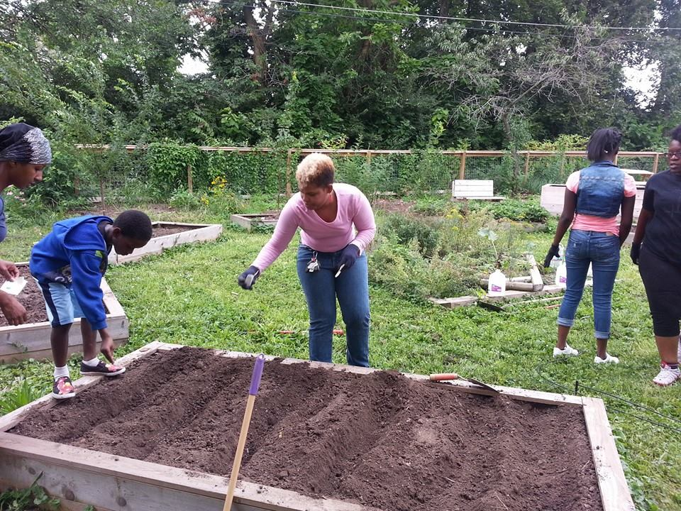 SPROUT Program at Miss Mary's Wellness Garden