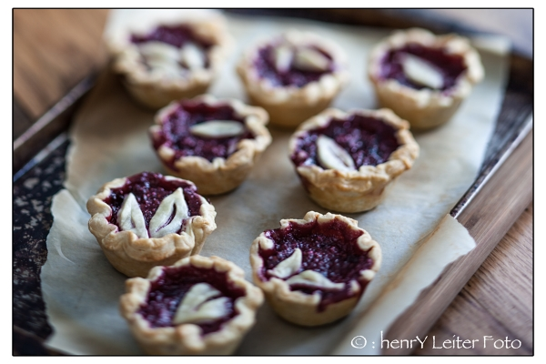 Mini Raspberry Pies.
