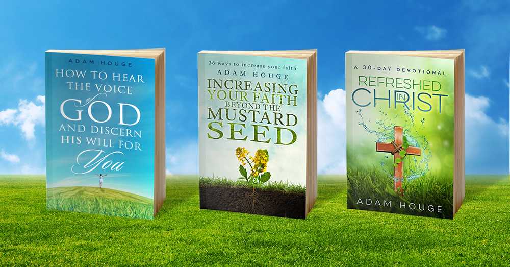 THESE TITLES HAVE OVER 1/4 MILLION SOLD. REFRESHED IN CHRIST IS OFFERED EXCLUSIVELY TO NEW SIGNUPS.