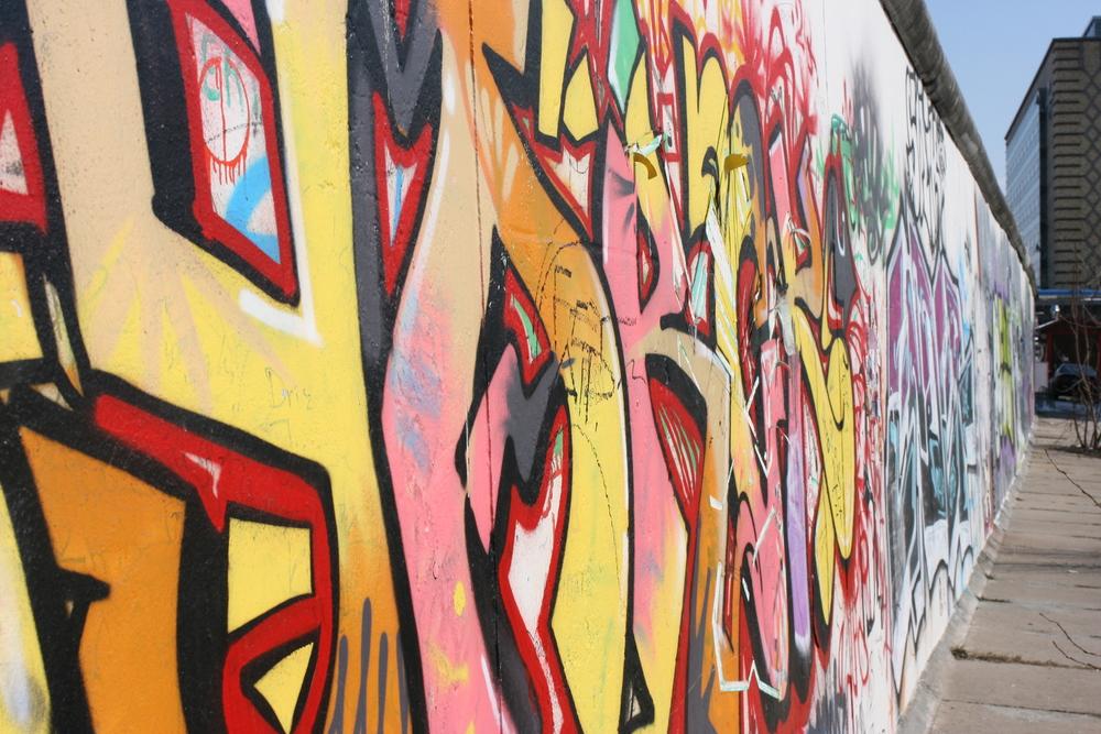 Berlin Wall, March 2013.