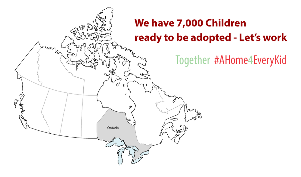 With 7,000 children in care in Ontario, we can do better!