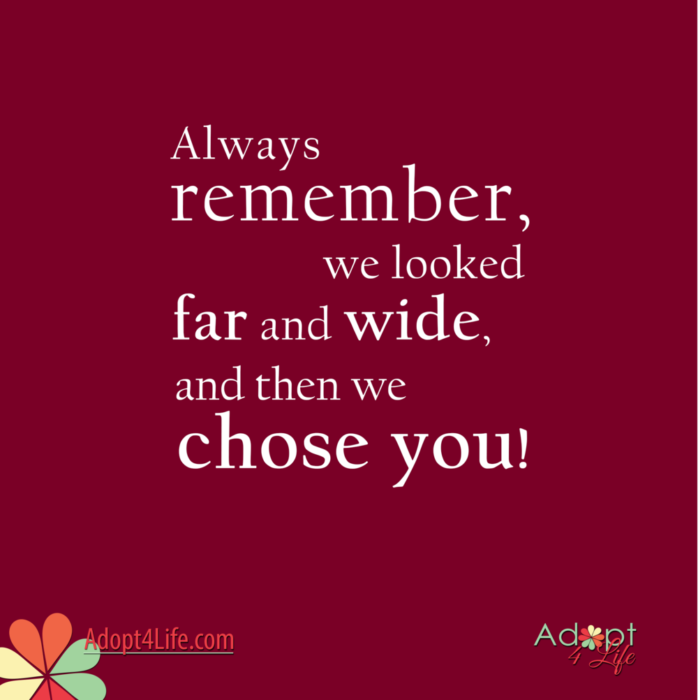 Quotes About Adoption Quotes  Adopt4Life