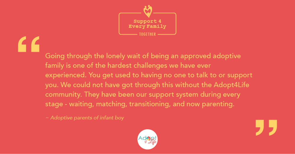 ~ Adoptive parents of infant boy