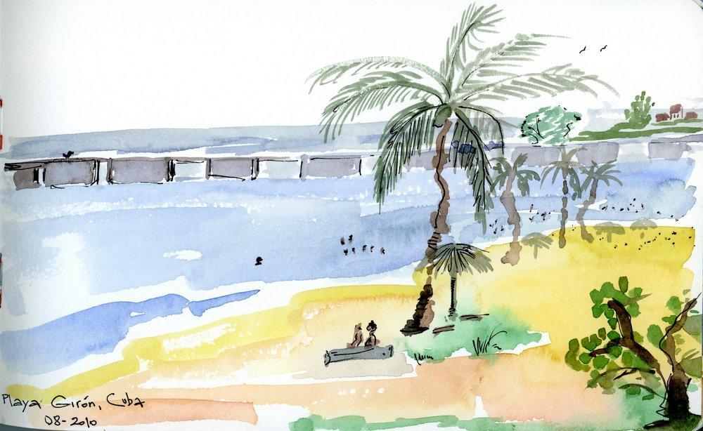 Playa Giron, Cuba.