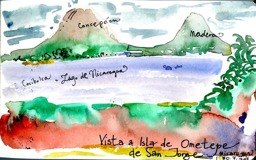 Isla de Ometepe, Nicaragua.